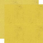 Lily Bee Design - Memorandum Collection - 12 x 12 Double Sided Paper - Lemon