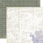 Lily Bee Design - Picket Fence Collection - 12 x 12 Double Sided Paper - Fresh Air