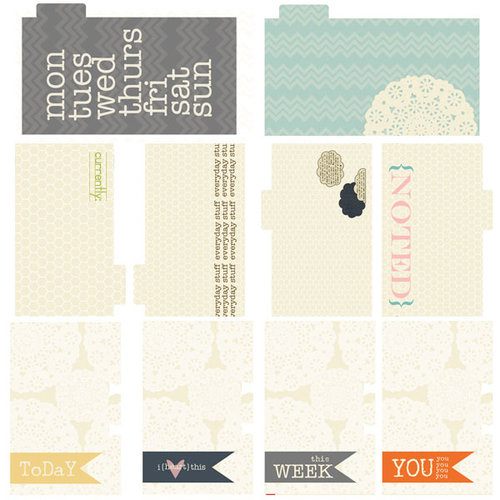Lily Bee Design - Persnickety Collection - Journal Cards