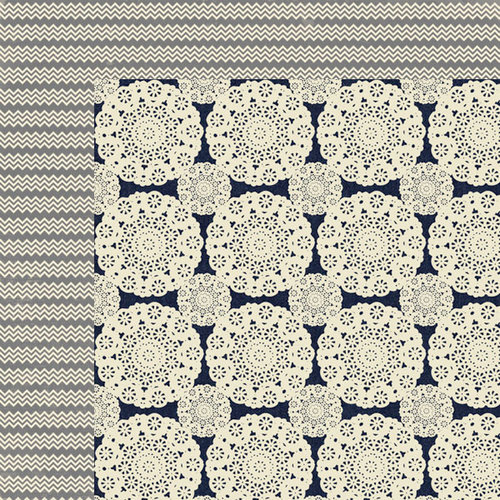 Lily Bee Design - Persnickety Collection - 12 x 12 Double Sided Paper - Prim