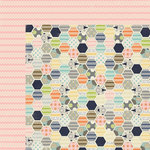 Lily Bee Design - Persnickety Collection - 12 x 12 Double Sided Paper - Fussy