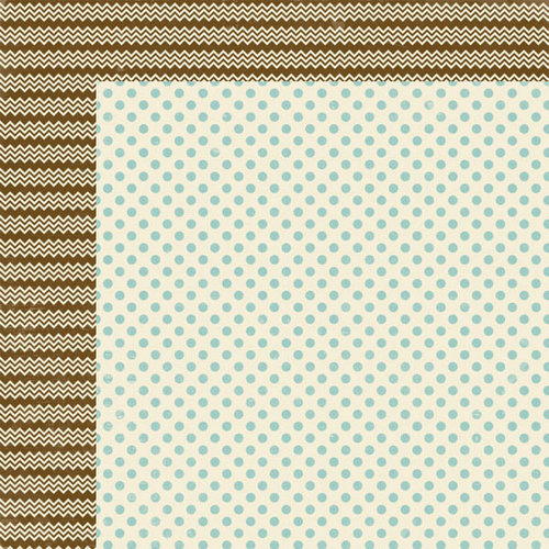 Lily Bee Design - Persnickety Collection - 12 x 12 Double Sided Paper - Snooty