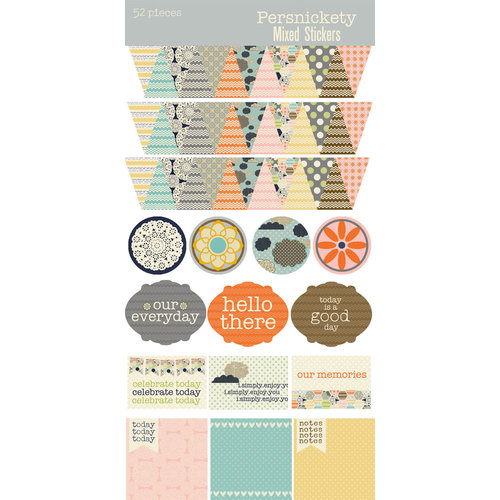 Lily Bee Design - Persnickety Collection - Cardstock Stickers