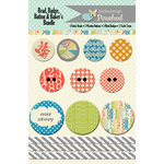 Lily Bee Design - Pinwheel Collection - Embellishment Bundle