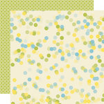 Lily Bee Designs - Pinwheel Collection - 12 x 12 Double Sided Paper - Kite Strings