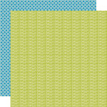 Pinwheel Collection - 12 x 12 Double Sided Paper - Lime Rickey by Lily Bee Design