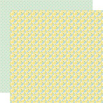 Lily Bee Designs - Pinwheel Collection - 12 x 12 Double Sided Paper - Flower Box