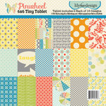 Pinwheel Collection - Tiny Tablet - 6 x 6 Paper Pad by Lily Bee Design