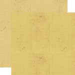 Lily Bee Design - Stationary Collection - 12 x 12 Double Sided Paper - Butter