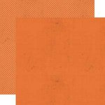 Lily Bee Design - Head Over Heels Collection - 12 x 12 Double Sided Paper - Tangerine
