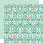 Lily Bee Design - Sweet Shoppe Collection - 12 x 12 Double Sided Paper - Gumball