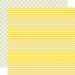Sweet Shoppe Collection - 12 x 12 Double Sided Paper - Lemon Drop by Lily Bee Design