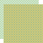 Lily Bee Design - Sweet Shoppe Collection - 12 x 12 Double Sided Paper - Salt Water Taffy
