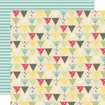 Sweet Shoppe Collection - 12 x 12 Double Sided Paper - Jellybean by Lily Bee Design