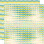 Lily Bee Design - Sweet Shoppe Collection - 12 x 12 Double Sided Paper - Candy Stick