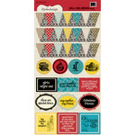 Lily Bee Design - This and That Collection - Cardstock Stickers