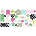 Lily Bee Design - Victoria Park Collection - Bag of Bits - Die Cut Cardstock Pieces