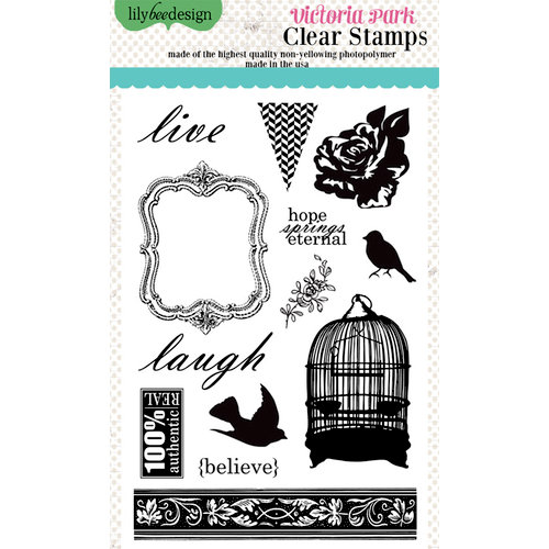 Lily Bee Design - Victoria Park Collection - Clear Acrylic Stamps