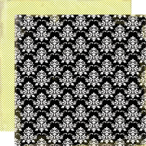 Lily Bee Design - Victoria Park Collection - 12 x 12 Double Sided Paper - Grand Theatre