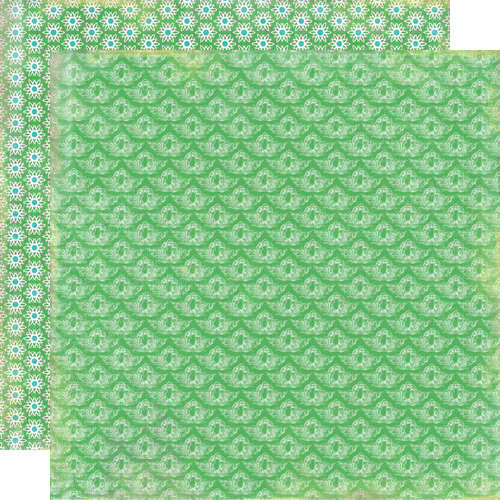 Lily Bee Design - Victoria Park Collection - 12 x 12 Double Sided Paper - Covent Garden