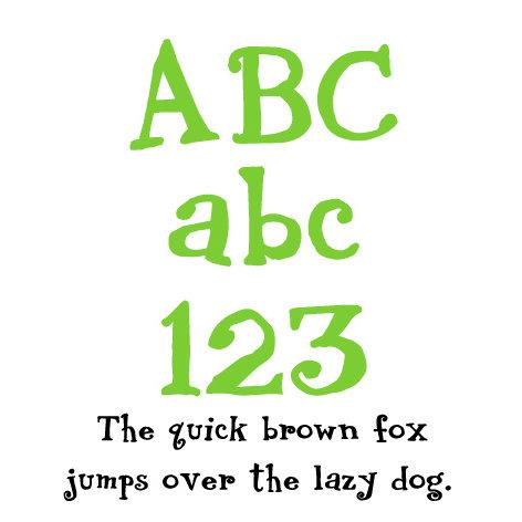 Fonts - Lettering Delights - Birthday Bash (Windows)