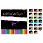 Core'dinations - Black Magic - Color Core Cardstock - Spell Caster