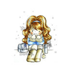 LDRS Creative - Little Darlings Collection - Cling Mounted Rubber Stamps - Winter Warmth