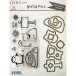 LDRS Creative - Christmas - Designer Dies and Clear Acrylic Stamps - North Pole