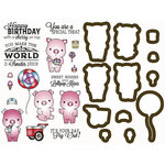 LDRS Creative - Designer Dies and Rubber Stamps - Sweet Treats