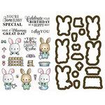 LDRS Creative - Designer Dies and Rubber Stamps - Garden Bunny
