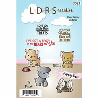 LDRS Creative - Designer Dies and Clear Acrylic Stamps - Puppy Time
