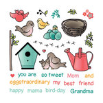 LDRS Creative - Clear Photopolymer Stamps - You're So Tweet