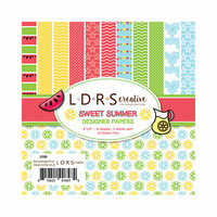 LDRS Creative - 6 x 6 Paper Pack - Sweet Summer