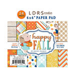 LDRS Creative - Happy Fall Collection - 6 x 6 Paper Pack