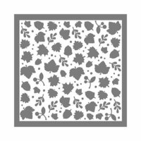 LDRS Creative - Happy Fall Collection - 6 x 6 Stencil - Leaves