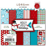 LDRS Creative - 6 x 6 Paper Pack - Holly Jolly Christmas