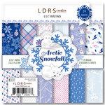 LDRS Creative - 6 x 6 Paper Pack - Arctic Snowfall