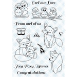 LDRS Creative - Clear Acrylic Stamps - Arctic Snowfall