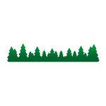 LDRS Creative - Designer Dies - Tree Line Border