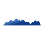 LDRS Creative - Designer Dies - Mountains Border