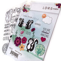LDRS Creative - Cling Mounted Rubber Stamps - Stinkin Amazing