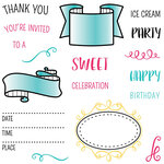 LDRS Creative - Clear Photopolymer Stamps - Party Time