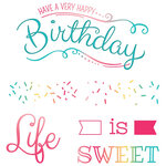 LDRS Creative - Clear Photopolymer Stamps - Life Is Sweet