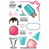 LDRS Creative - Clear Photopolymer Stamps - Ice Cream Party