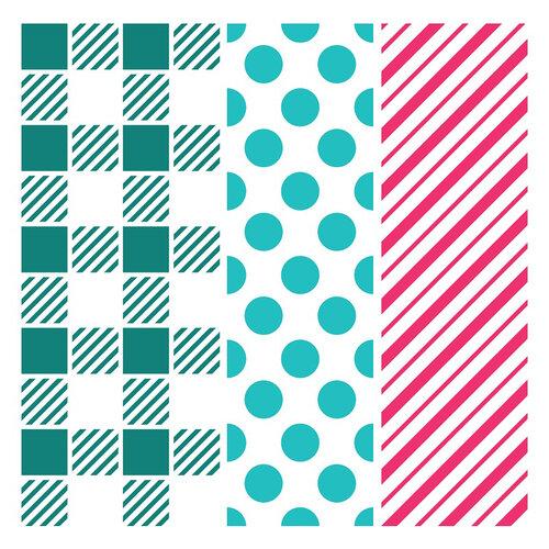 LDRS Creative - 6 x 6 Stencil - Playful Patterns