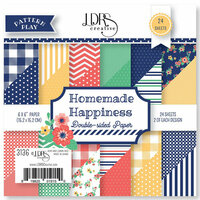 LDRS Creative - Pattern Play - Homemade Happiness - 6 x 6 Paper Pad
