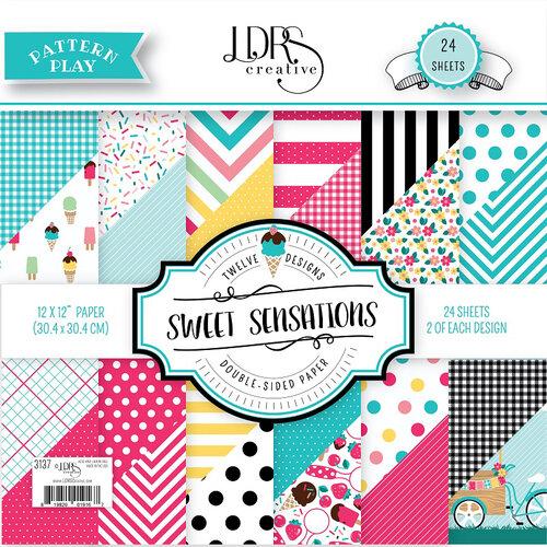 LDRS Creative - Pattern Play - Sweet Sensations - 12 x 12 Paper Pad