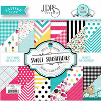 LDRS Creative - Pattern Play - Sweet Sensations - 12 x 12 Paper Pad