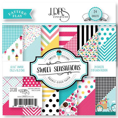 LDRS Creative - Pattern Play - Sweet Sensations - 6 x 6 Paper Pad