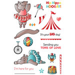 LDRS Creative - Clear Photopolymer Stamps - Hippo Hurray